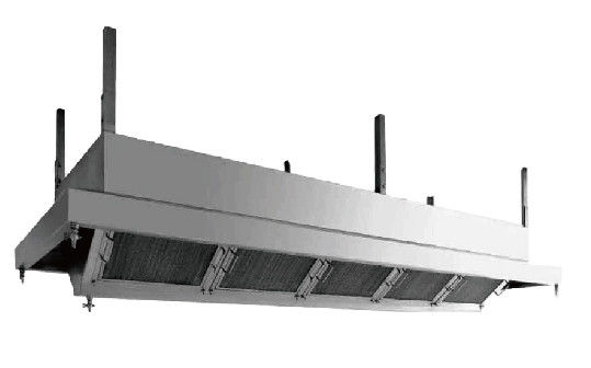 DK Marine Easy Operate Marine Kitchen Equipment , Marine Gas Collecting Hood Custom Specifications